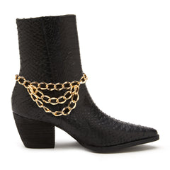 Main image: Girlfriend Boot Chain GOLD / 1PC M
