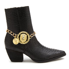 Main image: Lucky Lion Boot Chain GOLD / 1PC M
