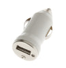 Iphone 4/4S/5/5S/5C/6 Car Charger White