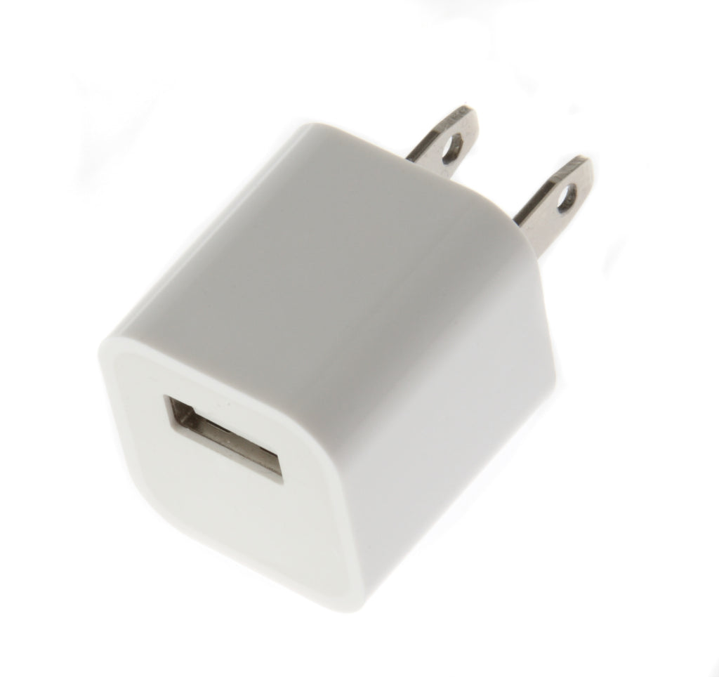the smartphone mall iphone 4 4s 5 5s 5c 6 wall charger white. Black Bedroom Furniture Sets. Home Design Ideas