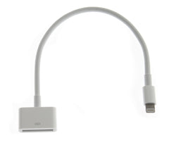 iPhone 5/5S/5C/6 Lightning to 30 pin Adapter (.2 m)