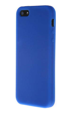 iPhone 4/4S Anti Slip Soft Silicone Blue