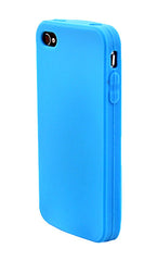 iPhone 5/5S Anti Slip Soft Silicone Light Blue