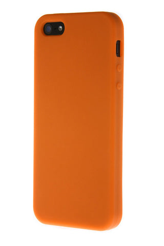 iPhone 4/4S Anti Slip Soft Silicone Orange