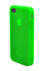 iPhone 4/4S Anti Slip Soft Silicone Green