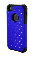 iPhone 4/4S Armor Dark Blue Diamond