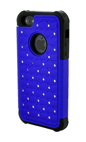 iPhone 5/5S Armor Dark Blue Diamond