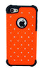iPhone 5C Armor Fluorescent Orange Diamond
