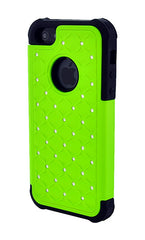 iPhone 4/4S Armor Green Diamond