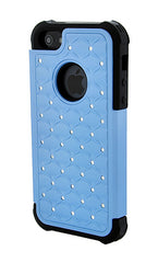 iPhone 5C Armor Light Blue Diamond