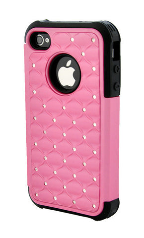 iPhone 6 Plus Armor Pink and Black Diamond