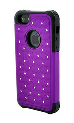 iPhone 4/4S Armor Purple Diamond