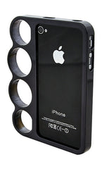 iPhone 4/4S Chrome Ring Black