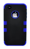 iPhone 5C Heavy Duty Front/Back Dark Blue Stripe