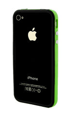 iPhone 4/4S Bumper Black and Green
