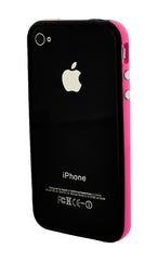 iPhone 4/4S Bumper Black and Pink