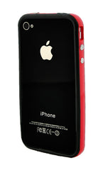 iPhone 4/4S Bumper Black and Red