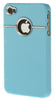 iPhone 5/5S Chrome Light Blue