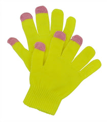 Yellow Touch Gloves