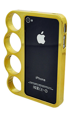 iPhone 5/5S Chrome Ring Gold