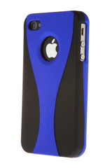 iPhone 4/4S Wine Glass Blue & Black