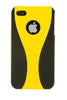 iPhone 4/4S Wine Glass Yellow & Black