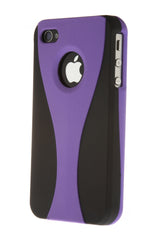 iPhone 4/4S Wine Glass Purple & Black