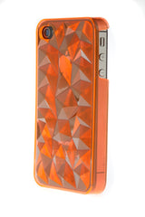 iPhone 4/4S Crystal Plastic Orange