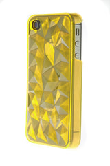 iPhone 4/4S Crystal Plastic Yellow