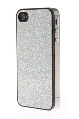 iPhone 4/4S Glitter Light Silver