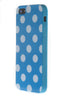 iPhone 5/5S Polka Dot Light Blue & White
