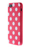iPhone 4/4S Polka Dot Pink & White