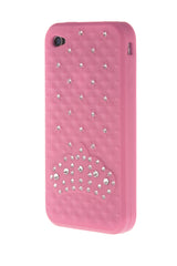 iPhone 4/4S Crown Diamond Light Pink Soft