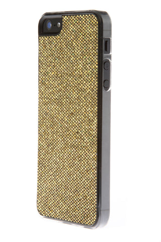 iPhone 5/5S Glitter Gold