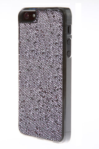 iPhone 5/5S Glitter Dark Silver