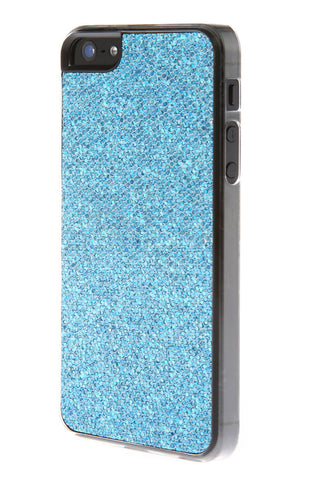 iPhone 5/5S Glitter Light Blue