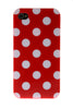 iPhone 4/4S Polka Dot Red & White