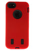 iPhone 5/5S Heavy Duty Front/Back Red