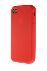 iPhone 4/4S Red Plastic Snap On
