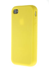 iPhone 4/4S Yellow Plastic Snap On