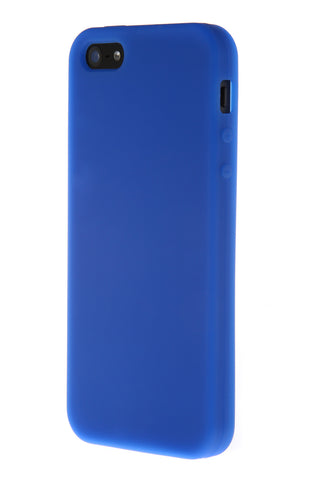 iPhone 5/5S Anti Slip Soft Silicone Blue