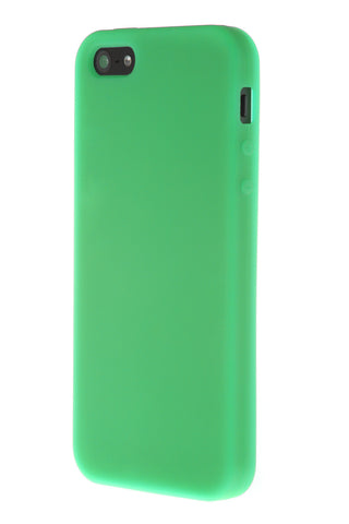 iPhone 5/5S Anti Slip Soft Silicone Green