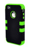 iPhone 5C Heavy Duty Front/Back Green Stripe