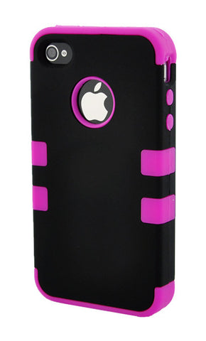 iPhone 5C Heavy Duty Front/Back Hot Pink Stripe