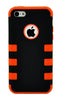 iPhone 6 Plus Heavy Duty Front/Back Orange Stripe
