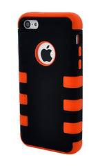 iPhone 5C Heavy Duty Front/Back Orange Stripe