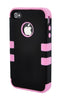iPhone 5/5S Heavy Duty Front/Back Pink Stripe