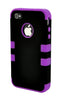iPhone 5C Heavy Duty Front/Back Purple Stripe