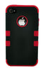 iPhone 5/5S Heavy Duty Front/Back Red Stripe