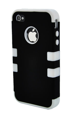 iPhone 5C Heavy Duty Front/Back White Stripe